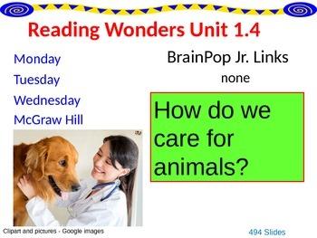 Wonders Reading Second Grade Power Point Unit 1.4