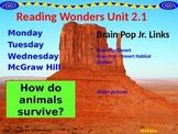 Wonders Reading Second Grade Power Point Unit 2.1