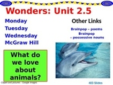 Wonders Reading Second Grade Power Point Unit 2.5