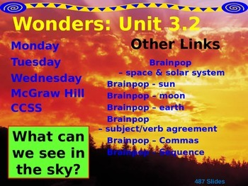 Wonders Reading Second Grade Power Point Unit 3.2