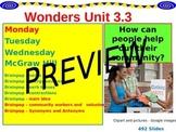 Wonders Reading Second Grade Power Point Unit 3.3