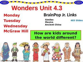 Wonders Reading Second Grade Power Point Unit 4.3