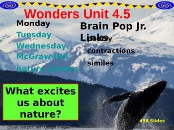 Wonders Reading Second Grade Power Point Unit 4.5