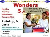 Wonders Reading Second Grade Power Point Unit 5.1