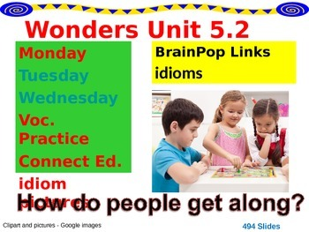 Wonders Reading Second Grade Power Point Unit 5.2