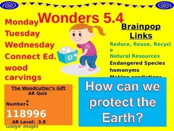 Wonders Reading Second Grade Power Point Unit 5.4