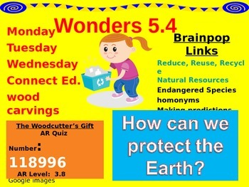 Wonders Reading Second Grade Power Point Unit 5.4