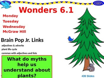 Wonders Reading Second Grade Power Point Unit 6.1