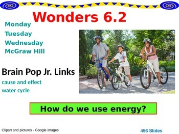 Wonders Reading Second Grade Power Point Unit 6.2