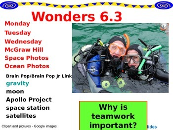 Wonders Reading Second Grade Power Point Unit 6.3
