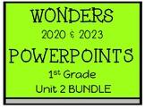 Unit 2, Wonders, 1st Grade PowerPoint, Student Engagement