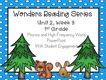 Wonders Reading Series, 1st Grade, Unit 2, Week 3  PowerPoint