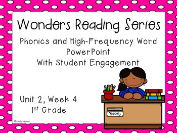 Wonders, Unit 2, Week 4, Phonics and High-Frequency Word PowerPoint
