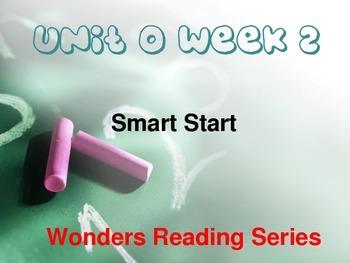 Wonders Reading Series 1st grade Unit 0 Week 2 Vocabulary