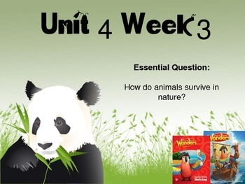 Wonders Reading Series 1st grade Unit 4 Week 3 Vocabulary