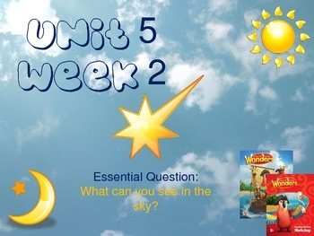 Wonders Reading Series 1st grade Unit 5 Week 2 Vocabulary
