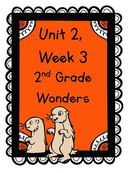 Wonders 2nd Grade Unit 2 Week 3 Phonics Worksheets