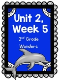 Wonders Reading Series, 2nd Grade, Unit 2, Week 5, Fun Centers and Printables