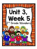 Wonders Reading Series, 2nd Grade, Unit 3, Week 5, Fun Centers and Printables