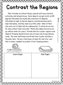 Wonders Reading Series, 2nd Grade, Unit 4, Week 1, Fun Centers and Printables