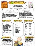 Wonders Reading Series 3rd Grade: Unit 1, Lessons 1-5 Newsletter