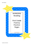 Wonders Reading Series First Grade Fluency Practice Unit 4