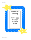 Wonders Reading Series First Grade Fluency Practice Unit 5