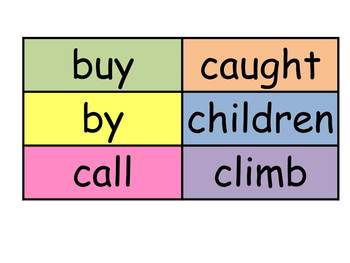 Wonders Reading Series High Frequency Words for word wall First Grade