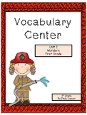 Wonders Reading Series, Unit 2, Vocabulary Center, 1st Grade
