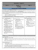 Wonders Reading Sixth Grade  Lesson Plans: Unit 1 Week 3