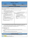 Wonders Reading Sixth Grade  Lesson Plans: Unit 1 Week 4
