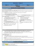 Wonders Reading Sixth Grade  Lesson Plans: Unit 1 Week 4