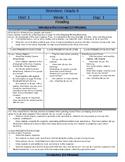 Wonders Reading Sixth Grade  Lesson Plans: Unit 1 Week 5