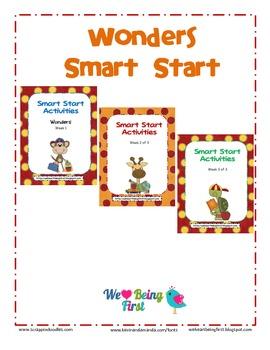 Wonders Reading Smart Start Binder Labels