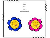 Wonders Reading Unit 1 Week 5 Reinforce Vocabulary