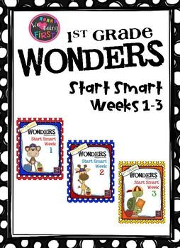 1st Grade Wonders Unit 2 Binder Cover