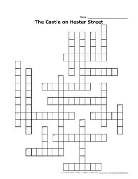 Wonders Reading Unit 2 Crosswords - Roadrunner, Castle, Vote, Cranes, Inventor