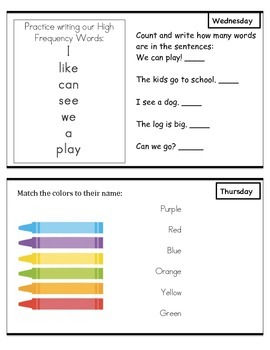 Wonders Reading Unit 2 Week 2 Kindergarten
