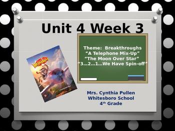 Wonders Reading Grade 4 Unit 4 Week 3