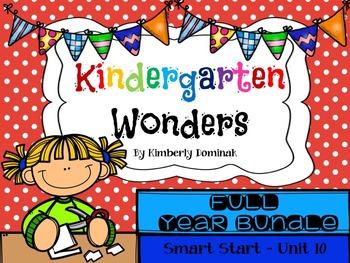 Wonders Reading for Kindergarten FULL YEAR BUNDLE Extension Activities