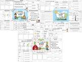 Wonders Reading for Kindergarten UNIT 5 BUNDLE Extension A