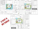 Wonders Reading for Kindergarten UNIT 6 BUNDLE Extension A
