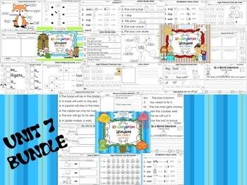 Wonders Reading for Kindergarten UNIT 7 BUNDLE Extension Activities!