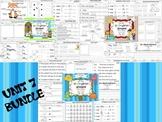 Wonders Reading for Kindergarten UNIT 7 BUNDLE Extension A