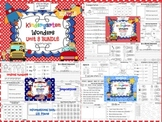 Wonders Reading for Kindergarten UNIT 8 BUNDLE Extension Activities!