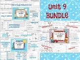 Wonders Reading for Kindergarten UNIT 9 BUNDLE Extension Activities!