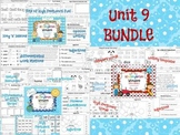 Wonders Reading for Kindergarten UNIT 9 BUNDLE Extension A