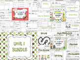 Wonders Reading for Kindergarten: Unit 1 BUNDLE Extension Activities
