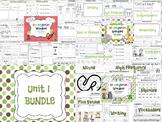 Wonders Reading for Kindergarten: Unit 1 BUNDLE Extension Activities