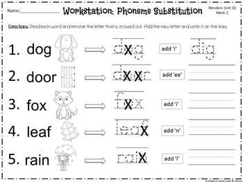 Wonders Reading for Kindergarten: Unit 10 Week 2 Extension Activities